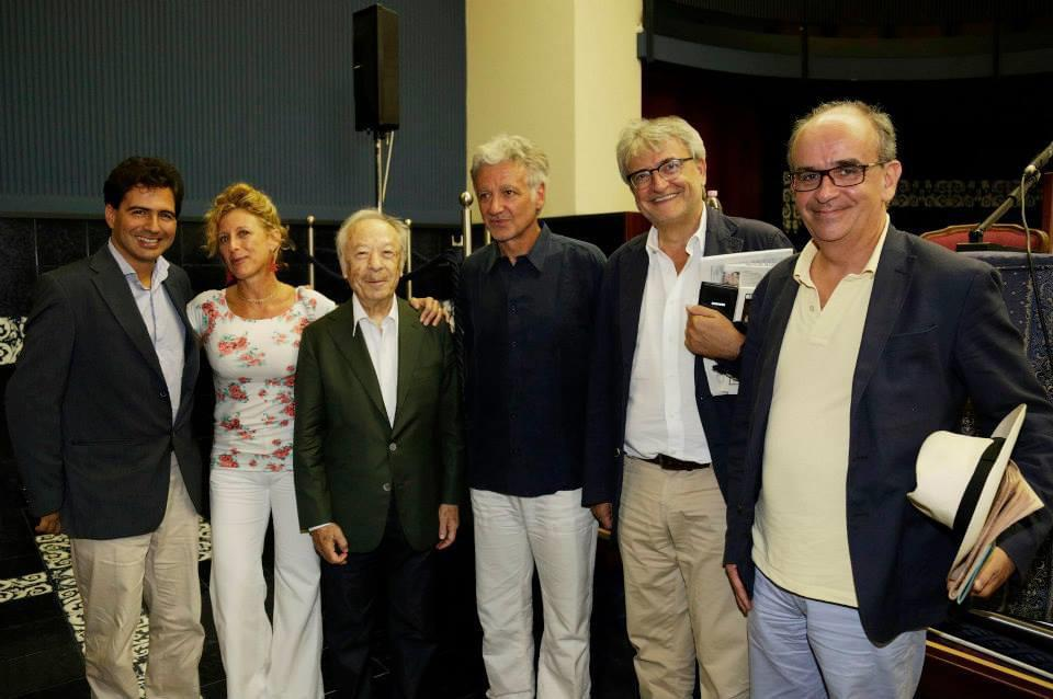 Danielke Carnini, Ilaria Narici, Alberto Zedda, Emilio Sala, Oriano Giovanelli e Paolo Pinamonti