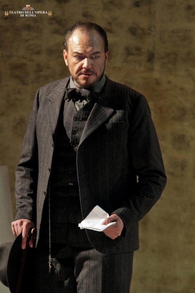 Vincenzo Taormina: Sharpless al Teatro dell'Opera di Roma